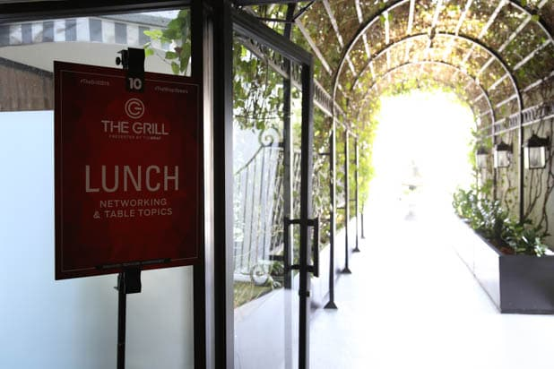 Lunch at TheGrill 2019