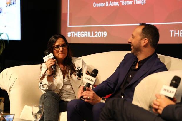 tony hale pamela adlon at thegrill 2019