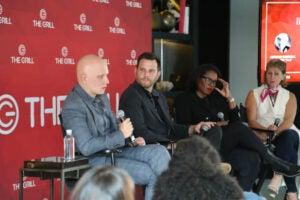 Anthony Carrigan, Dave Rubin, Brie Miranda Bryant, Sharon Waxman