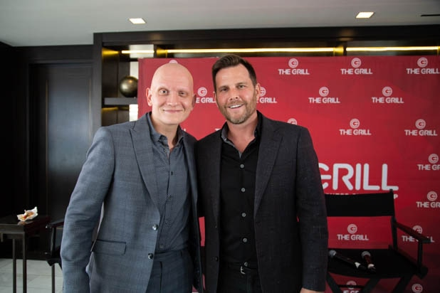Anthony Carrigan, Dave Rubin at TheGrill 2019