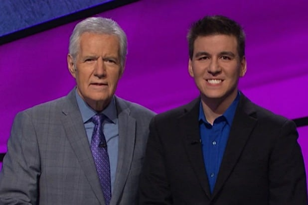 James Holzhauer Alex Trebek Jeopardy