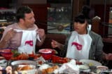 Jimmy Fallon and Nicki Minaj go to Red Lobster