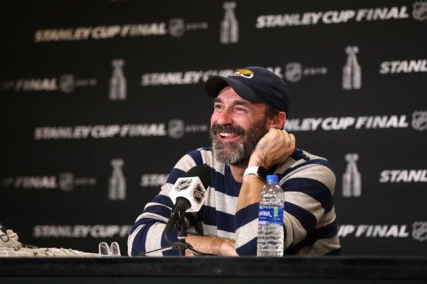 Jon Hamm Stanley Cup Finals