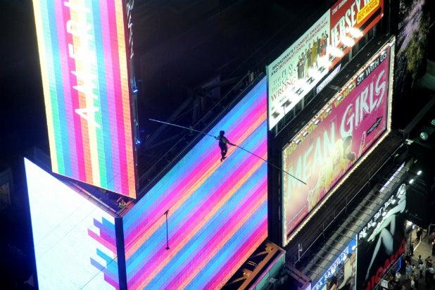 Lijana Wallenda in 'Highwire Live in Times Square With Nik Wallenda'