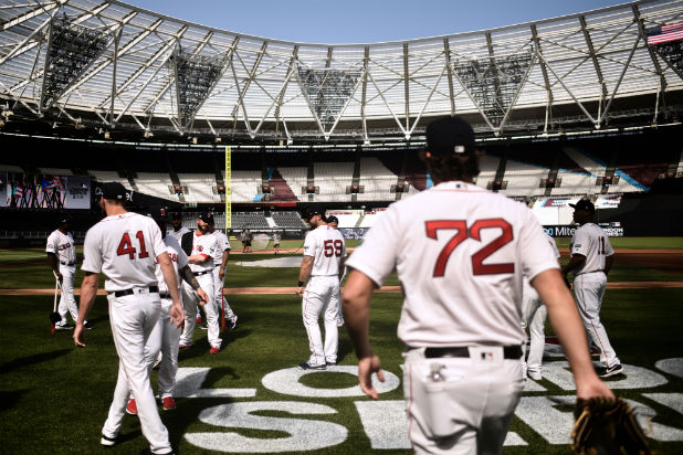 MLB London Red Sox