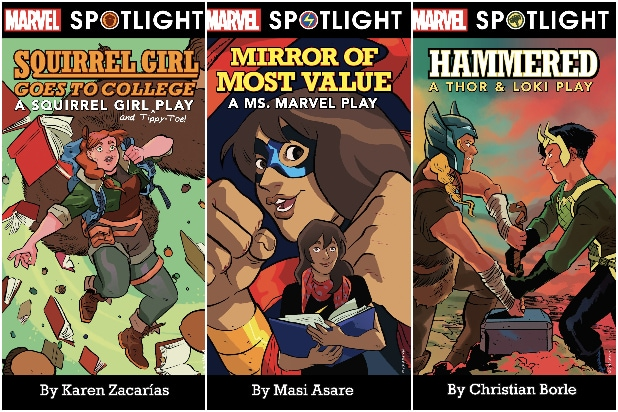 Thor & Loki Hit the Stage: Marvel Teams With Samuel French