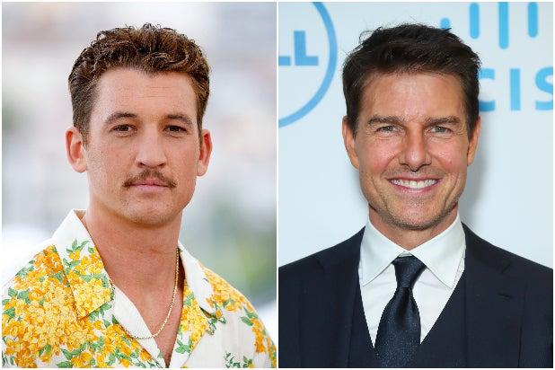 Miles Teller Tom Cruise