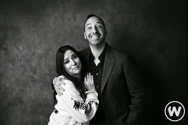 Pamela Adlon and Tony Hale, TheGrill