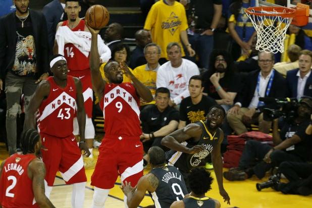 Toronto Raptors Golden State Warriors Game 6