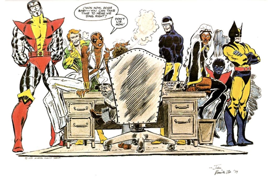 X-Men Dark Phoenix Dazzler Grace Jones John Romita Jr.