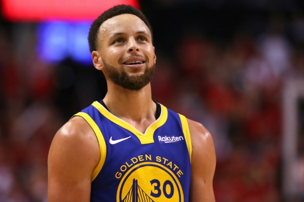 Steph Curry in 2019 NBA Finals Game 2