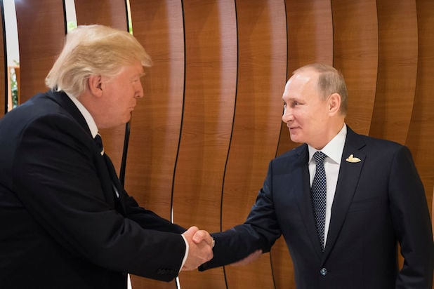 Trump Yuks It Up With Putin; 'Fake News Is a Great Term, Isn't It?'