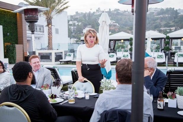 TheGrill2019 opening dinner Sharon Waxman