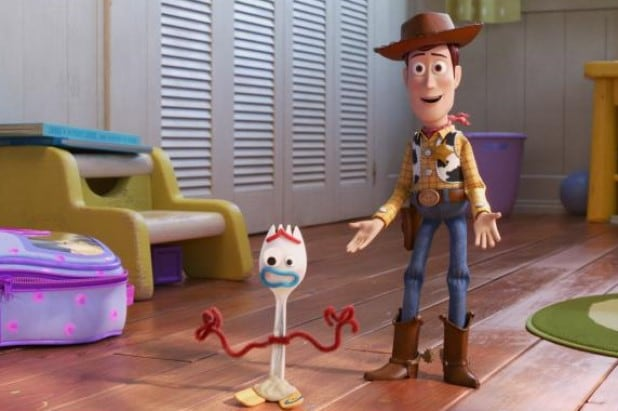 Toy Story 4 Forky Woody