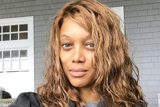 tyra banks nomakeup selfie