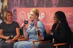 Sharon Waxman, Jennifer Palmieri, Cori Bush PWB DC 2019