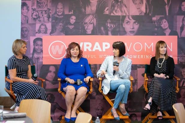 Sharon Waxman, Rep. Linda T. Sanchez, Ruth Vitale, Gale Anne Hurd PWB DC 2019