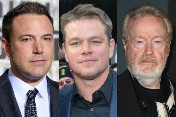Ben Affleck Matt Damon Ridley Scott
