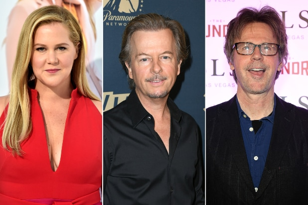 Amy Schumer, Dana Carvey Among First-Week Guests for David Spade's 'Lights Out' on Comedy Central