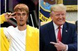 Justin Bieber Donald Trump