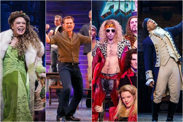 Broadway Blackout Hadestown Hamilton Rock of Ages Come From Away