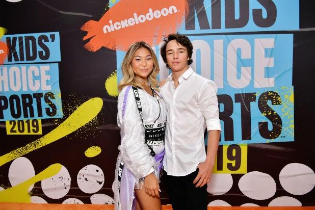 Chloe Kim Toby Miller Nickelodeon Kids Choice Sports