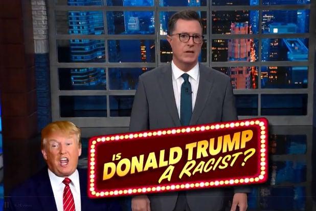 Colbert Trump Baltimore