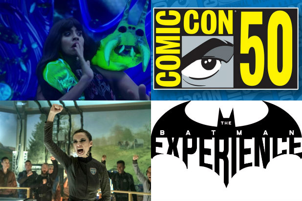 Comic-Con 2019 sdcc activations expanse batman good place