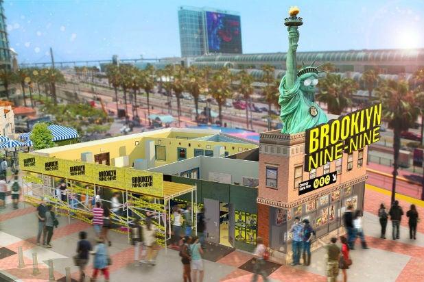 Comic-Con activations brooklyn nine nine 99