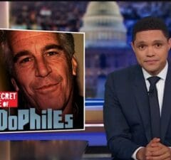 Daily Show Trevor Noah Jeffrey Epstein