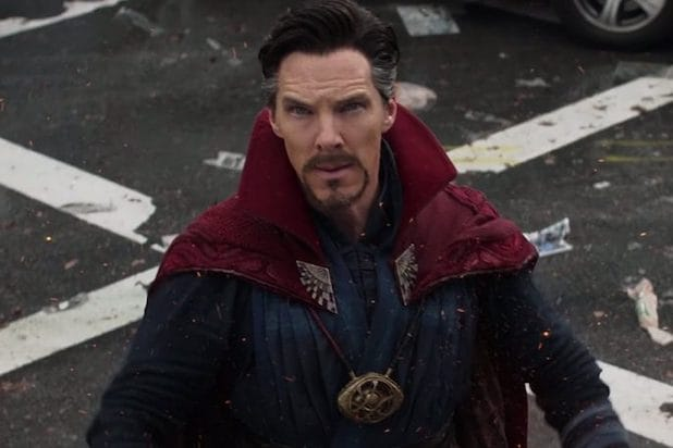 Doctor Strange Benedict Cumberbatch Spider-man