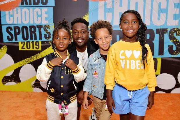 Dwyane Wade Nickelodeon Kids Choice Sports