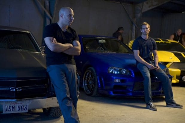 "Vin Diesel and Paul Walker in ""Fast & Furious"" (2009)"