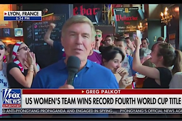 Fox News Greg Palkot Women's Cup
