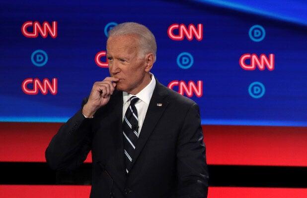 Biden Tells #DemDebate Viewers to 'Go to Joe30330' Which Isn't a Thing
