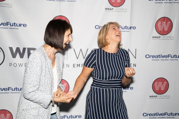Ruth Vitale and Sharon Waxman PWB DC 2019