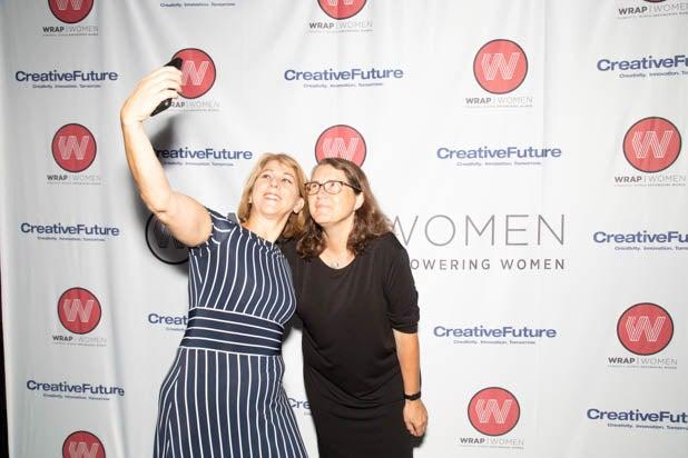 Sharon Waxman and Cynthia Terrell PWB DC 2019