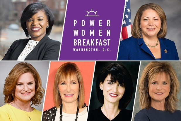 power women breakfast washington dc gale anne hurd jennifer palmieri