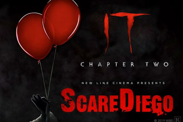 It Chapter 2 ScareDiego Comic-Con 2019