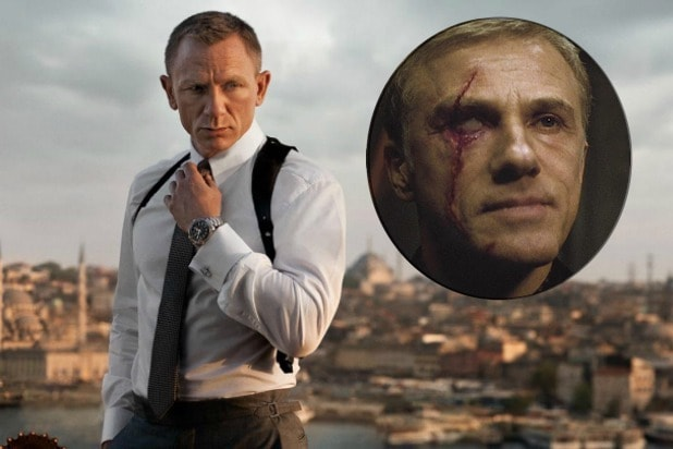 James Bond Daniel Craig Christoph Waltz