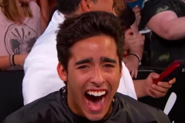 Jimmy Kimmel Makes Shaq Give Aspiring Actor a Horrifying Haircut