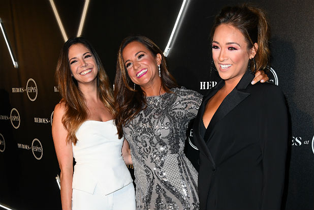 katie nolan dianna russini and cassidy hubbarth espys 2018