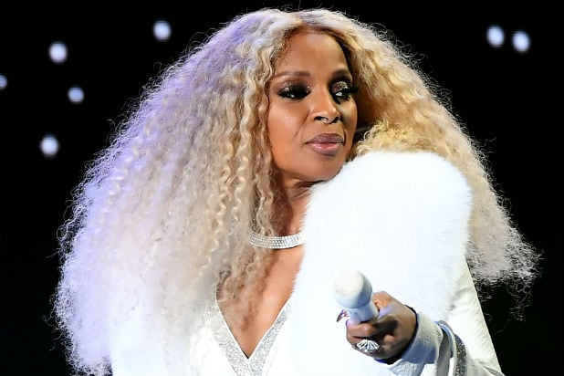 Mary J Blige at BET Awards
