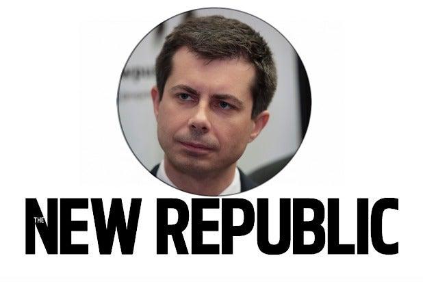 New Republic Pete Buttigieg