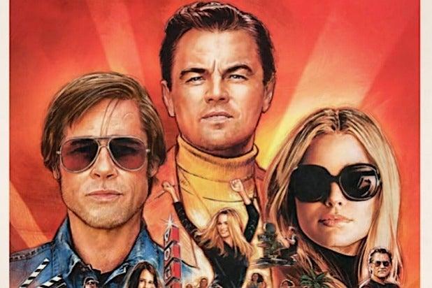 Once Upon A Time In Hollywood Leonardo DiCaprio Brad Pitt Margo Robbie