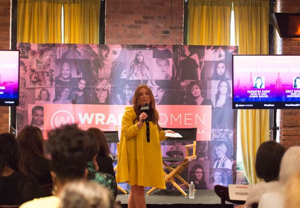 Samantha Barry at PWB NYC 2019