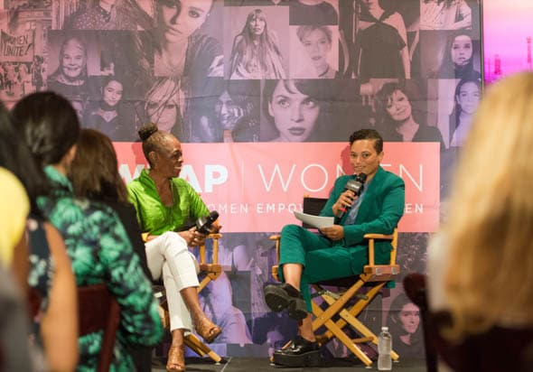 Chirlane McCray and Whembley Sewell at PWB NYC 2019