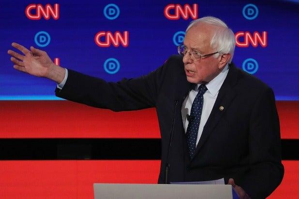 Presidential Debate Bernie Sanders