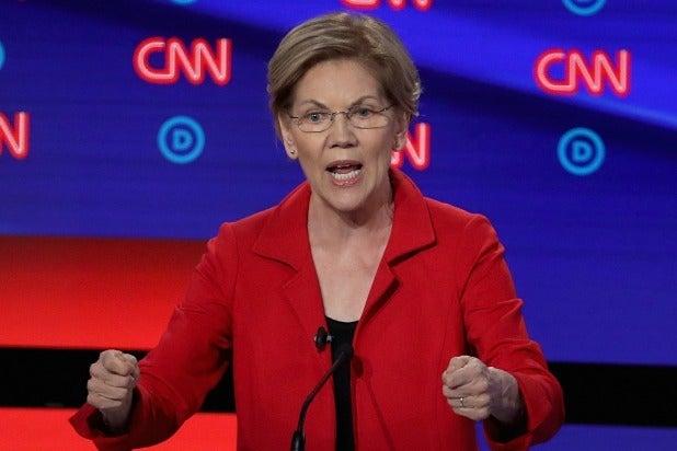 Presidential Debate Elizabeth Warren
