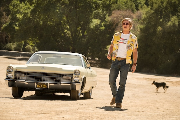 Once Upon a Time in Hollywood Brad Pitt 1966 Cadillac DeVille